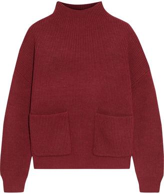 Iris & Ink Asma Ribbed Wool Sweater