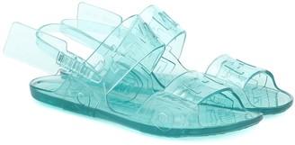 Off-White Off White Logo PVC sandals