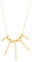 Rebecca Minkoff Bead & Bar Pendant Necklace