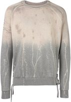 Faith Connexion tye dye sweatshirt - men - Cotton - XS