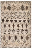 Ecarpetgallery La Morocco Ivory Black Shag