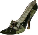 Asstd National Brand Green Bow Shoe Ring Holder