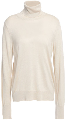 Filippa K Metallic Knitted Turtleneck Sweater