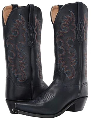 Old West Boots Emma (Denim Blue) Cowboy Boots