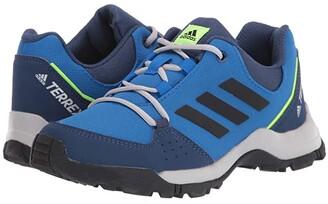 adidas Outdoor Kids Terrex Hyperhiker Low (Little Kid/Big Kid) (Glory Blue/Black/Signal Green) Boy's Shoes