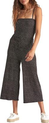 Billabong Try Me Crop Jumpsuit