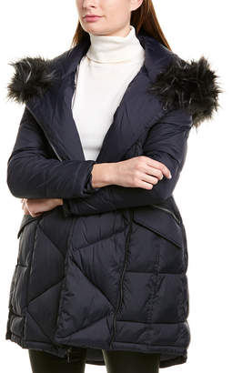 French Connection Quilted Puffer Coat