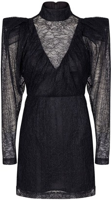 Rotate by Birger Christensen Ida Lace Mini Dress