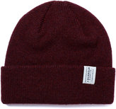 Barbour Burgundy New Wool Beanie Hat