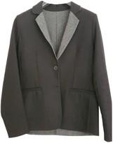 Closed Black Wool Jacket for Women