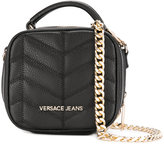 Versace quilted effect crossbody bag