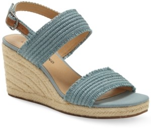 Lucky Brand Women's Minjah Espadrille Wedge Sandals Women's Shoes