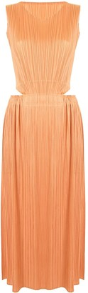 Pleats Please Issey Miyake Micro-Pleated Dress