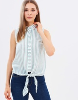 Warehouse Casual Sleeveless Shirt