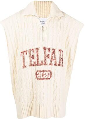 Telfar Logo Print Pullover