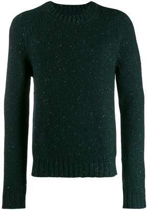 Maison Margiela glitter effect sweater