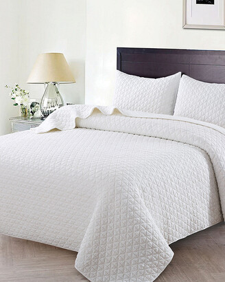 Christopher Knight Home Christopher Knight Crushed Stone Quilt Set