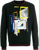 Versace JP Collage print sweatshirt - men - Cotton - S