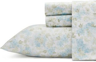 Laura Ashley Rena Turquoise Sheet Set