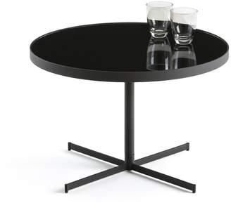 La Redoute La RAFA Glass & Metal Round Coffee Table