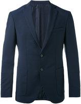 HUGO BOSS smart blazer - men - Cupro/Mohair/Virgin Wool - 46