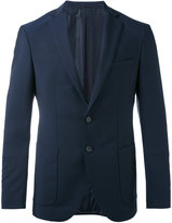 HUGO BOSS smart blazer - men - Cupro/Mohair/Virgin Wool - 48