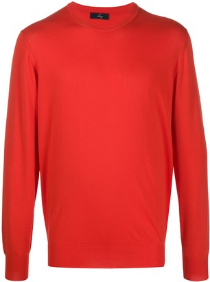 Fay Cotton Long Sleeve Jumper