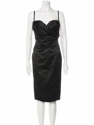 Christian Dior 2008 Knee-Length Dress w/ Tags Black