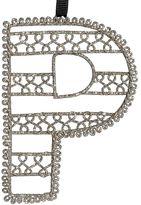 Wire Letter Ornament, P