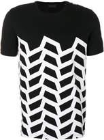 Diesel Black Gold geometric print T-shirt