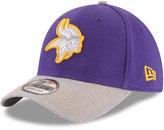 New Era Minnesota Vikings Heather 39THIRTY Cap