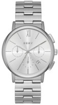 DKNY Willoughby Silver Stainless Steel Watch