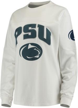 Women's White Penn State Nittany Lions Edith Long Sleeve T-Shirt