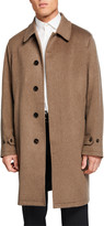 Burberry Men's Pimlico Cashmere Camel Coat