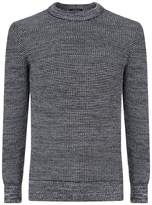 HUGO BOSS Picot Chunky Weave Sweater