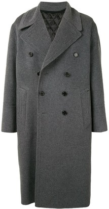 SONGZIO Long Double-Breasted Coat