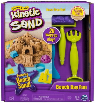 Spin Master Toys Kinetic Sand Beach Day Fun Playset
