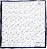 Kenneth Cole Itami Geo Printed Silk Pocket Square