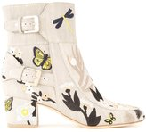 Laurence Dacade Tropical boots - women - Cotton - 36