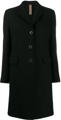 Eleventy mid-length single-breasted coat