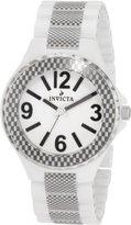 Invicta Women's 1184 Ceramic White Dial White Ceramic Watch