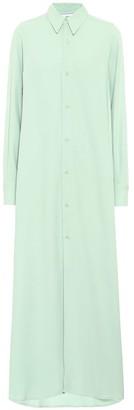 Ami Crepe-twill shirt dress