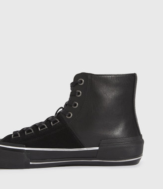 AllSaints Waylon High Top Leather Sneakers