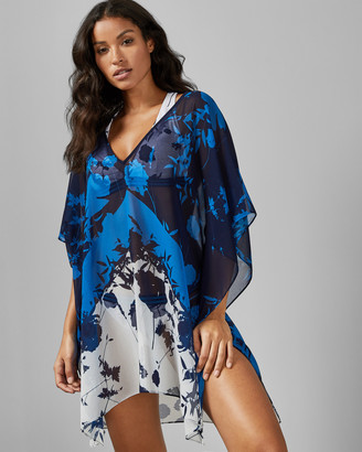 Ted Baker LIANNA Bluebell V-neck cover up