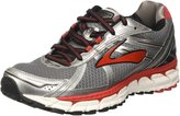 Brooks Men's Defyance 9 Running Shoe Charcoal/Silver/High Risk Red Size 14 D