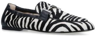 Tod's Zebra-Print Loafers