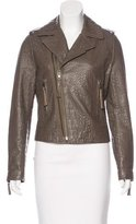 Joie Leather Textured Jacket