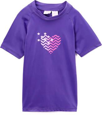 Kanu Surf Girls' Rashguards Purple - Purple Alexa Rashguard - Girls