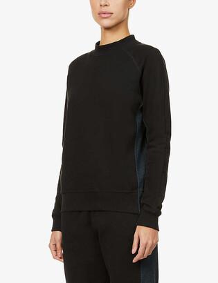Vaara Rumer contrast-stripe organic-cotton sweatshirt