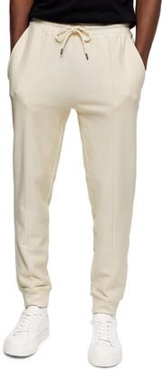Topman Skinny Fit Twill Jogger Pants